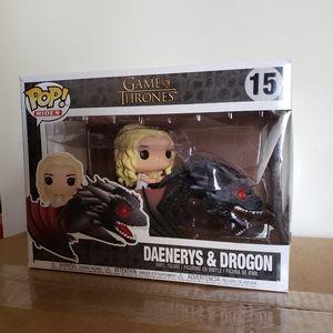 Daenerys and Drogon Funko Pop Rides